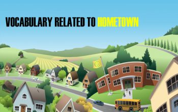Vocabulary Related To Hometown